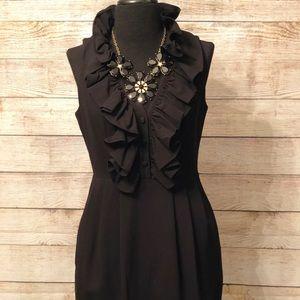 Marc New York Black Collard Dress